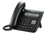 Standard SIP telephone with large alphanumeric display