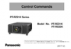 PT-RZ21K Series, PT-RZ21K/RS20K RS-232C control spec (English, Chinese, Japanese)