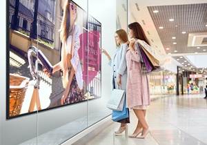High-brightness Panel for a Clear Display of Images Even in Brightly Lit Places